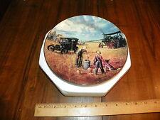 1990 Danbury Mint Plate - Farming The Heartland Bountiful Harvest Emmett Kaye !