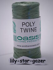 Oasis PolyBast Twine - Floristry Poly Twine - Mossing Binding Craft Art Student