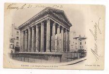 vienne , le temple d'auguste et de livie