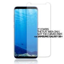 2X QUALITY Clear Proteggi Schermo Piatto Cover Protezione PER Samsung Galaxy S8+