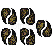 Acoustic Guitar Pickguard Scratch Plate Soft Self Stick  Black Parts 10 pcs