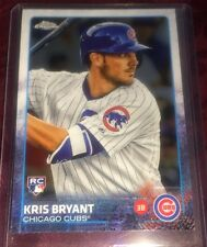 Kris Bryant 2015 Topps Chrome Rookie Card #112, Chicago Cubs MVP and World Champ