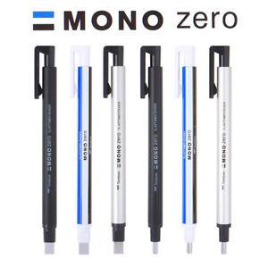 Tombow Mono Zero Eraser - Round (2.3 mm) / Rectangular (2.5 x 5 mm)