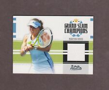 2005 Ace Authentic Grand Slam Champions Martina Hingis Jersey #418/500