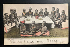 1907 Cape Of good Hope South Africa RPPC Postcard Cover to England the Party