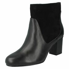 Clarks Ankle 100% Leather Boots for Women