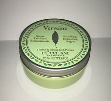 L'Occitane Verbena Refreshing Exfoliating Sugars 175g Brand New Full Size