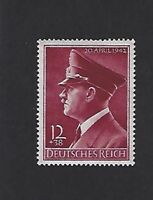 Adolph Hitler Mint stamp / MNH 53rd birthday / 1942 Third Reich / WWII Germany