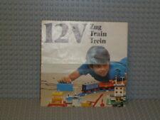 LEGO® Eisenbahn Bauanleitung 12V Train Idea Leaflet (98560-l-ty/fr/ho.) B5139