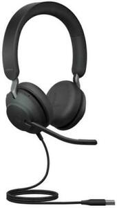 Jabra Evolve2 40 UBC-A MS Wired Stereo Headset USB-A connection 24089-989-999