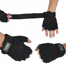 1 Pair Half Finger Weight Lifting Fitness Gloves Sports Workout Wrist Wrap Glove