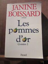 Janine Boissard: Les pommes d'or, Croisière 2/ Fayard
