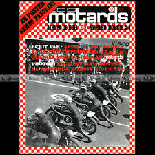 LES MOTARDS N°7 MUNCH MAMMUT TTS HONDA CB 750 FOUR TERROT 350 HD APPIETTO 1969