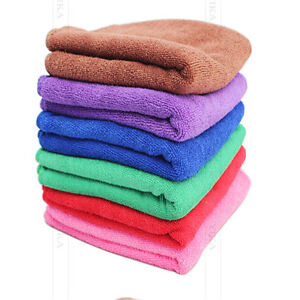 High Quality Microfiber Absorbent Drying Bath Washcloth Towel 1pcs Wholesale