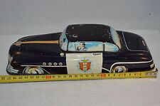 """Tinplate Car """"Highway Patrol"""" Made in GT. Britain working fiction motor"""