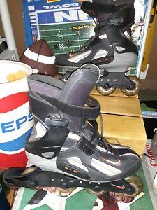 Nike Men's Size 10 Carbon Zoom Air Inline Street Hockey Skates Roller Blades