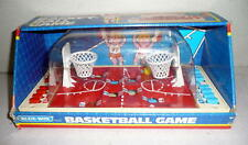 Vintage 1980s BLUE BOX BASKET BALL GAME Tabletop Hong Kong Mfg Nice Graphics