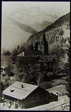 Glass Magic Lantern Slide MOUNTAIN CHURCH C1920 NORTHERN ITALY ? PHOTO NO73