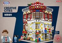 Bausteine Xingbao Ostern Toystore Bookstore Modell Spielzeug Baukästene Toys 549