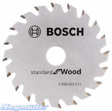 Bosch Hartmetall-Sägeblatt  85x1,1/0,7x15 Z20 Nr. 2608643071 für GKS 10,8 V-LI