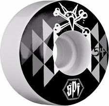 Bones Spf Fireball Skateboard Wheels 54mm White