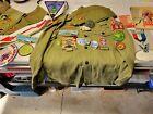 1960s Boy Scout OA, Eagle Scout lot, E.S. medal, uniform, patches, pins, etc.