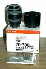 Canon EF 70-300mm f4.5-5.6 IS USM DO ULTRASONIC Lens, MINT Boxed, Japanese made
