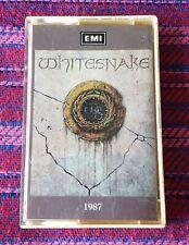 WhiteSnake ~ 1987 ( Malaysia Press ) Cassette