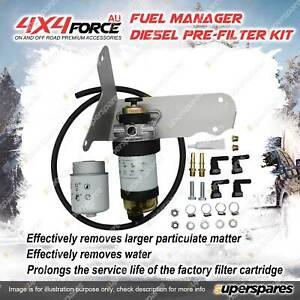 Fuel Manager Diesel Pre-Filter Kit for Mazda BT-50 UP UR 3.2L P4AT P5AT
