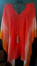 V-Neckline Boho Regular Size Tops & Blouses for Women