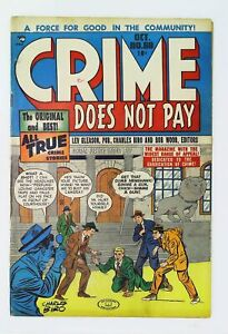 Crime Does Not Pay #68 in Fine minus condition. [*f6]