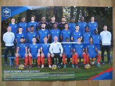 Poster von der Herren Fussball Nationalmannschaft *FRANKREICH* Din A2 2016/2017
