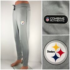 Pittsburgh Steelers Under Armour Mens Small Joggers Pants Gray Combine EUC