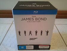 THE JAMES BOND 007 BLU RAY 23 MOVIES COLLECTION BOX SET