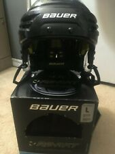 New In Box Bauer REAKT Hockey Helmet Black size Large