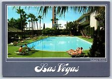 Sahara Hotel & Casino Las Vegas, NEVADA Pool Continental Postcard New