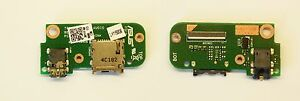Genuine Acoustique Jack + SD Carte ASUS Transformer Pad TF303K TF303K_ Sb _ _