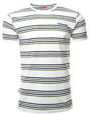 Lambretta Camisetas manga corta cuello redondo rayas hombre algodón GB s-4xl