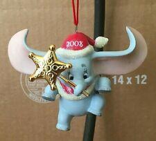 Disney Dumbo Christmas Ornament 2008 RARE