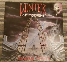 ** WINTER OF TORMENT - Immoral World - GREEN vinyl - AUTOGRAPHED MIKE PEARSON **