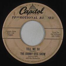 Doo-Wop 45 - Johnny Otis Show - Tell Me So - Capitol - mp3
