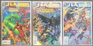 JLA The Titans #1 2 3 DC 1998 Grayson Jimenez Lanning complete set lot nm