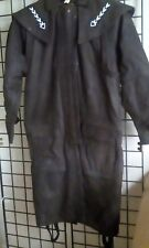 Men's Duster Brown, With Detail Design on Collar,Small, New