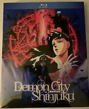 Demon City Shinjuku Blu Ray Movie Discotek Media Official Anime Kawajiri
