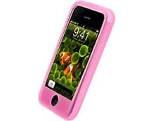 Pink Silicone Protector Case For Apple iPhone 3G S