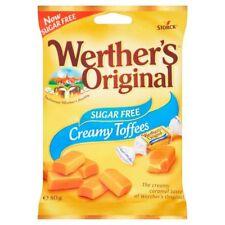 Werther's Original Sugar Free Toffee, 18 x 80g