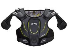 STX YOUTH Stallion 200 Lacrosse Shoulder Pads Size M (Black/Yellow)