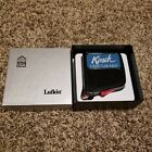 """Vintage Lufkin """"Kirsch"""" Tape Measure Yellow Locking w/Belt Clip in Orig box NOS"""
