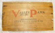 Valley Park Brand Oleomargarine Otto F Stifels Union B Co Saint Louis Crate (O)