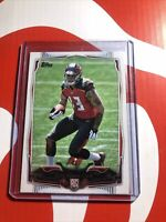 MIKE EVANS ROOKIE 2014 TOPPS TAMPA BAY RC FOOTBALL CARD